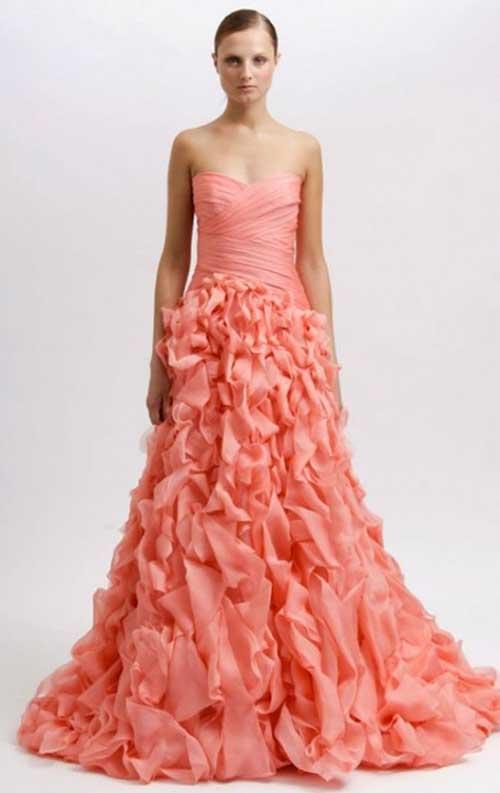fotos de Vestidos de Noiva Rosa