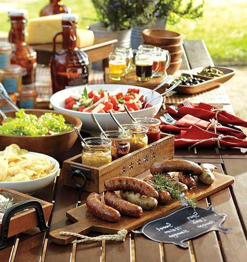Casamento com churrasco o que servir decora o for Utensilios para servir comida