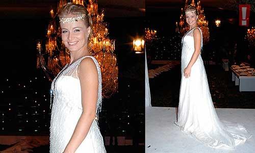 modelo branco para noivas