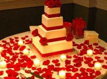 bolo para seu casamento decorado