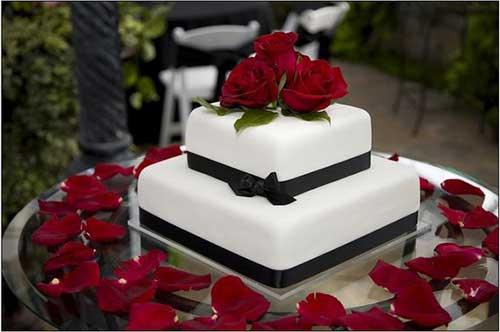 fotos de bolos quadrados