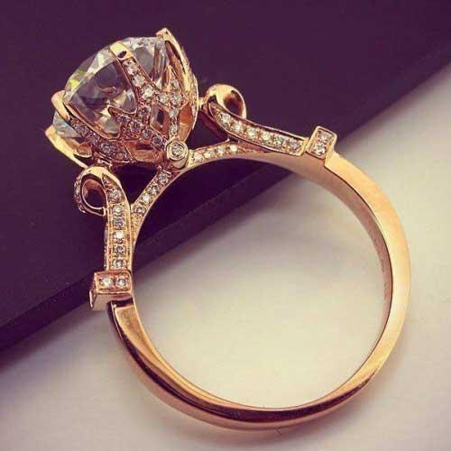 verlovingsring rose goud