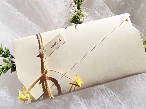 envelope diferente