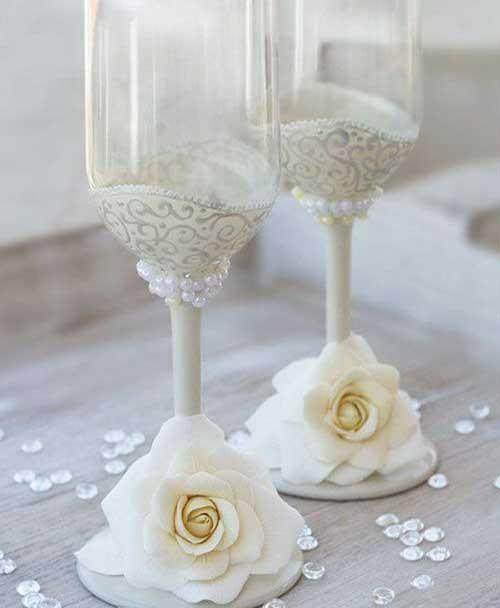 dicas de taças para casamento