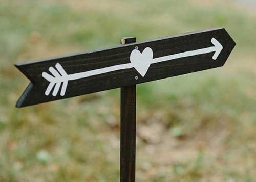 sinalizar o amor