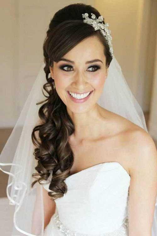 Fabuloso 30 Penteados c/ Véu para Noivas: Modelos e Como Fazer Passo a Passo EJ35