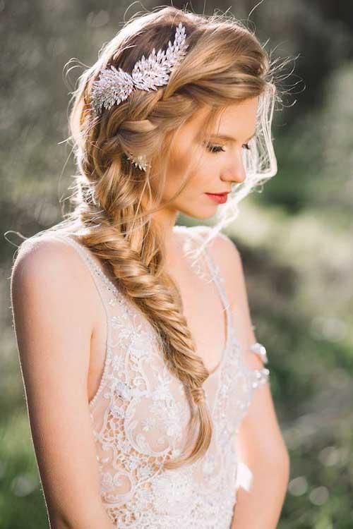 fotos de penteados com tiara
