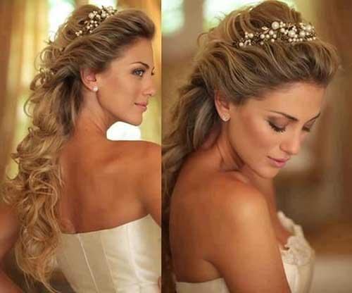 penteados com tiara