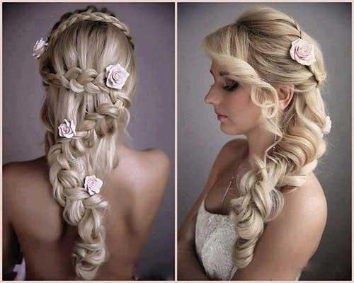 imagens de penteados com tiara