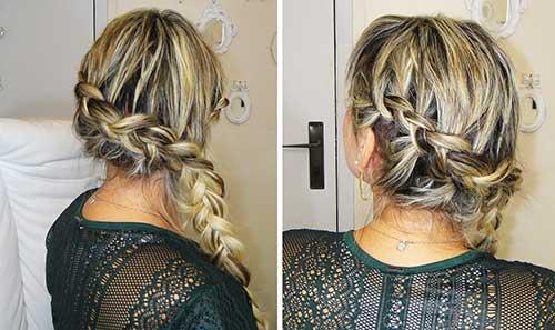penteados para cabelos presos