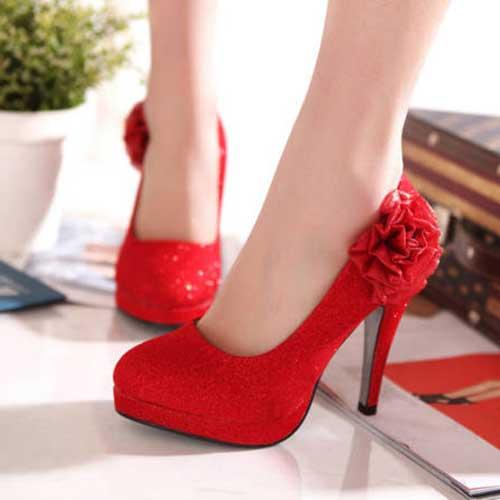 calçados da noiva