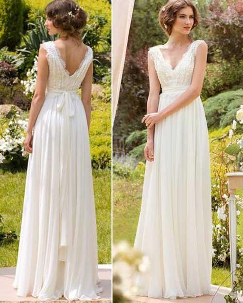 50 Vestidos De Noiva Simples Curtos Longos Bonitos E Baratos