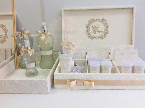 Molde Kit Banheiro Casamento Como Fazer : Kit banheiro spa para casamento o que colocar como