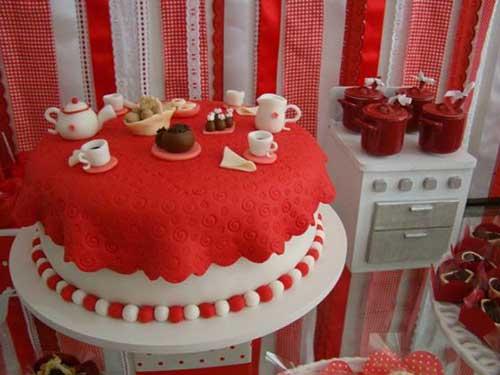 bolo de noivado
