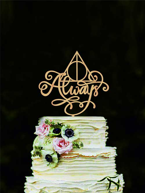 festa de casamento do harry potter