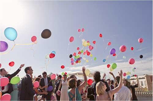 soltar balões