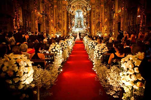 tapetes para cerimônia