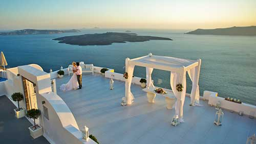 casar em santori