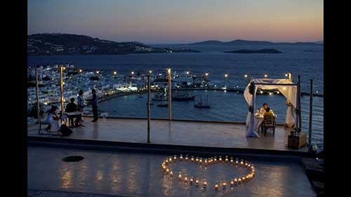 fotos de casamento da grécia