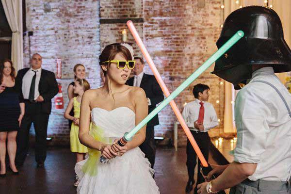 imagens de casamento do star wars