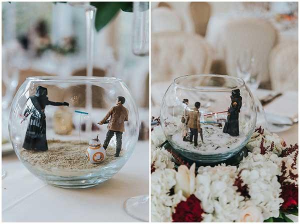 fotos de casamento do star wars