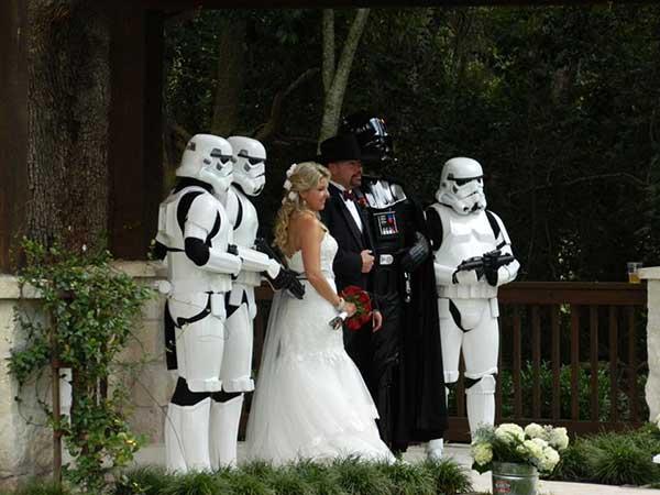 casamento do star wars
