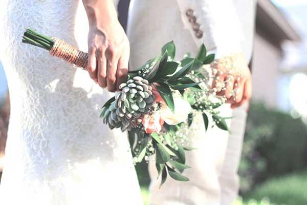 fotos de casamento minimalista