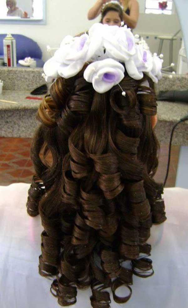 penteados para floristas