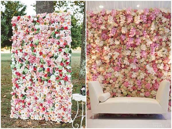 imagens de parede de flores
