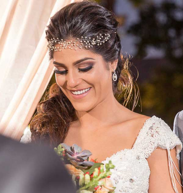 fotos de enfeites para cabelos de noiva