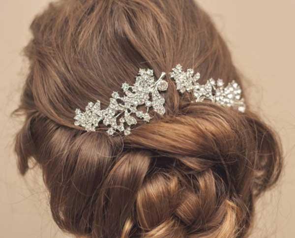 enfeites para cabelos de noiva
