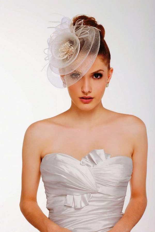 modelo de chapéu para noiva