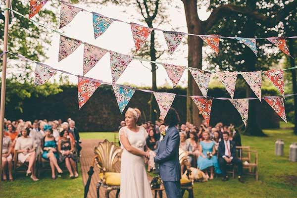 fotos e ideias de como decorar com bandeirinhas