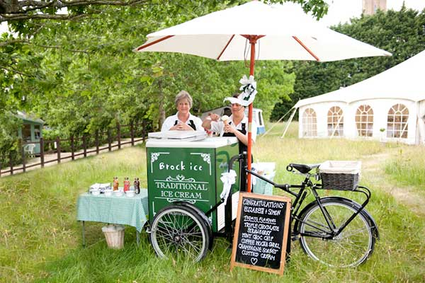 inspiração de Foodbike para Casamento