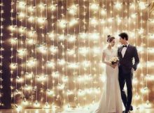 Como Decorar Casamento com Cortina de LED?