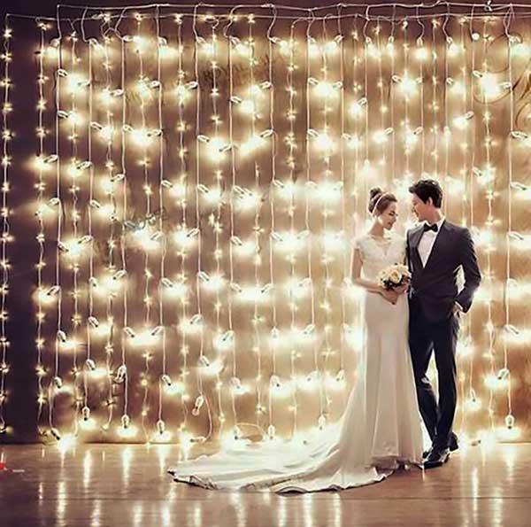 Como Decorar Casamento com Cortina de LED?