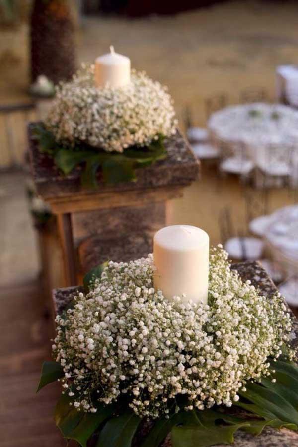 para iluminar o altar