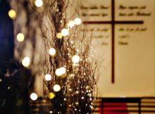 Ideias de decoração com galhos secos para casamento
