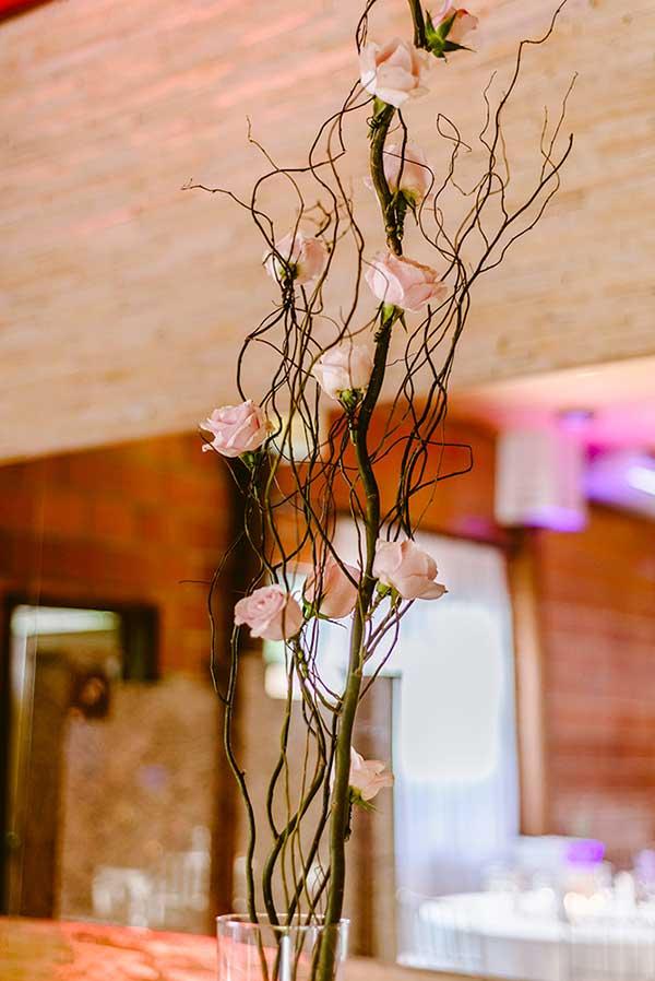 galhos secos na decoração