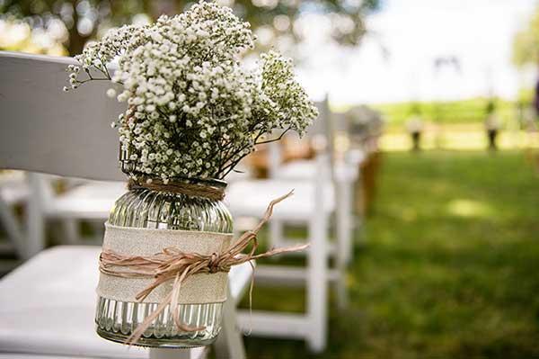 ideias para decorar casamento