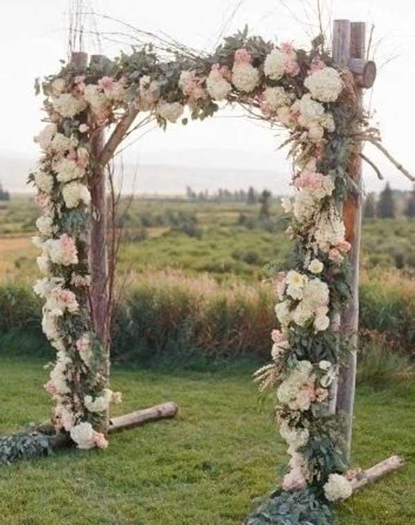 imagens de altar de casamento