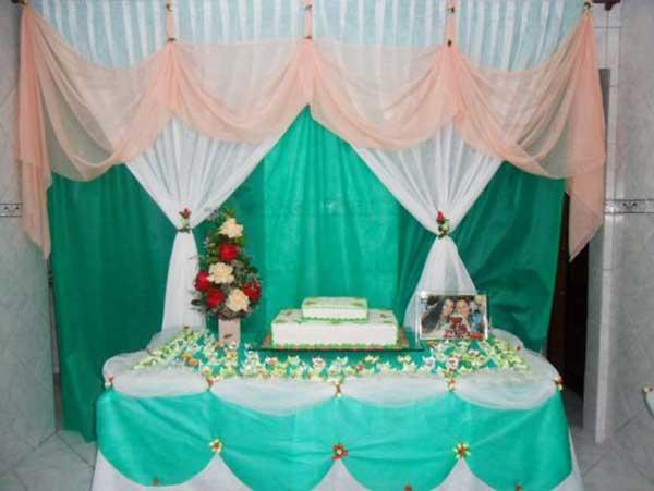 decoração com tnt para casamento